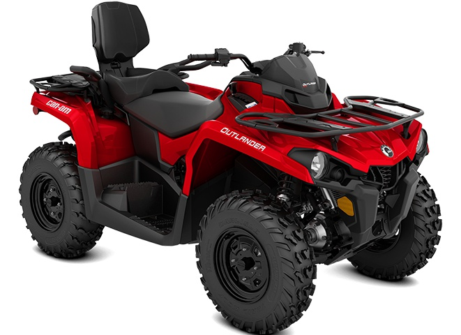2022 Can-Am Outlander MAX 570 Viper Red