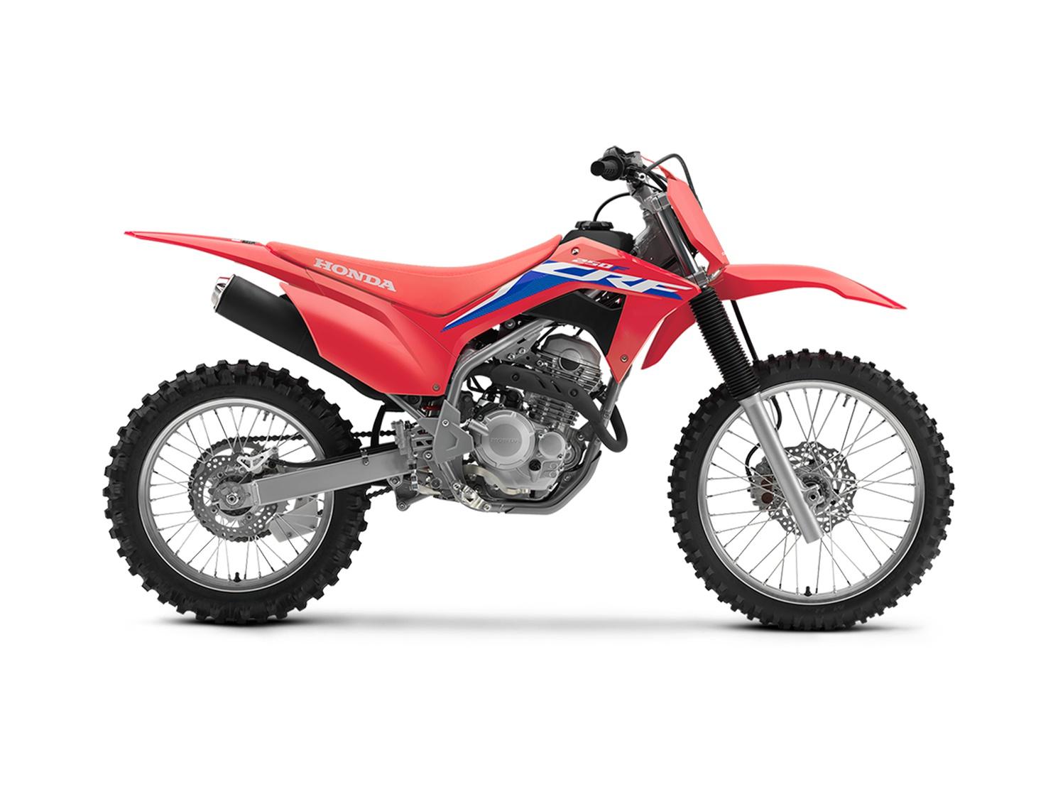 2022 Honda CRF250F Extreme Red