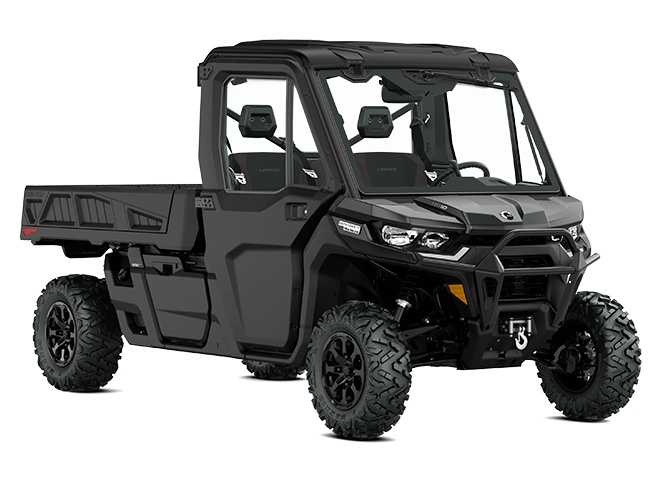 2022 Can-Am Defender PRO Limited Stone Gray
