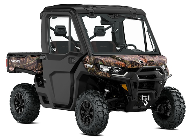 2022 Can-Am Defender Limited Mossy Oak Break Up Country Camo
