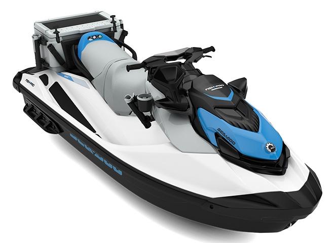 Sea-Doo Fish Pro Scout 130 Blanc/Bleu Océan 2022