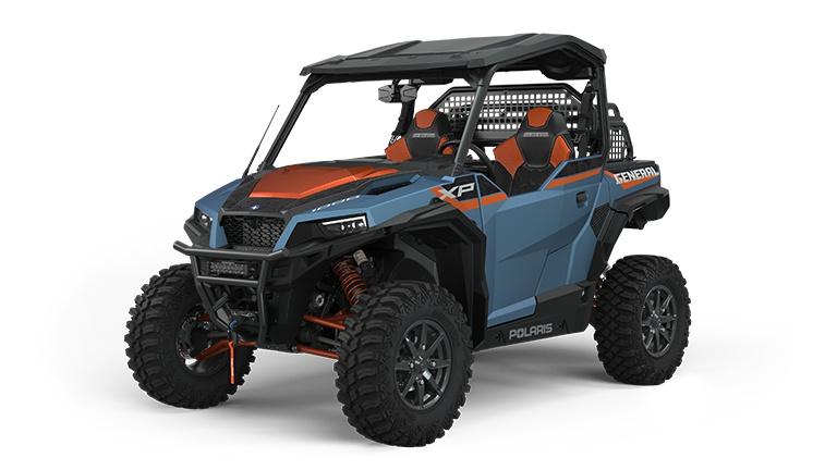 2022 Polaris GENERAL XP 1000 Trailhead Edition Matte Blue Slate Metallic