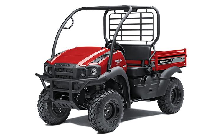 2022 Kawasaki MULE SX 4×4 XC FI Firecracker Red