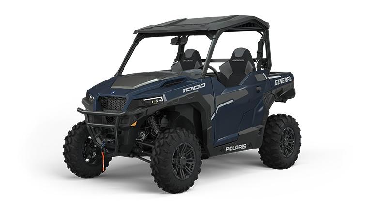 2022 Polaris GENERAL 1000 Deluxe Steel Blue