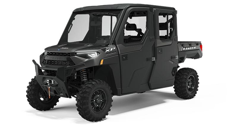 Polaris RANGER CREW XP 1000 NorthStar Edition Premium Matte Titanium 2022