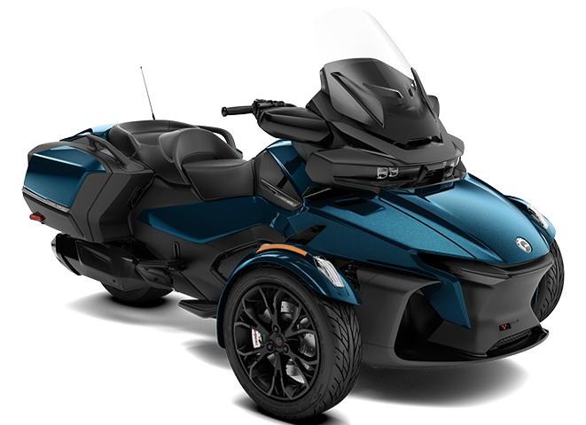 2022 Can-Am Spyder RT Petrol Metallic