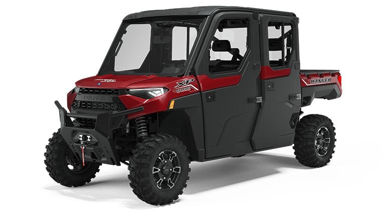 Polaris RANGER CREW XP 1000 NorthStar Edition Premium Sunset Red Metallic 2022