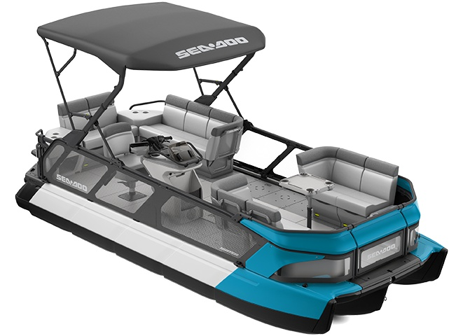 Sea-Doo Switch Cruise 21 170 ch Bleu Caraïbes 2022