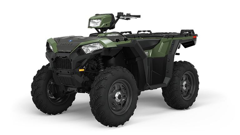 2022 Polaris Sportsman 850 Sage Green