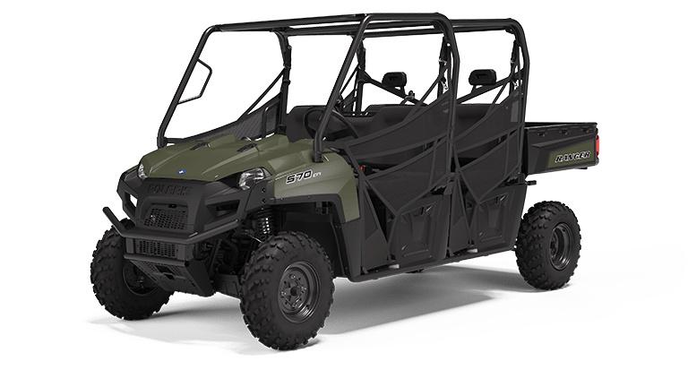 Polaris RANGER CREW 570 Full-Size Sagebrush Green 2022