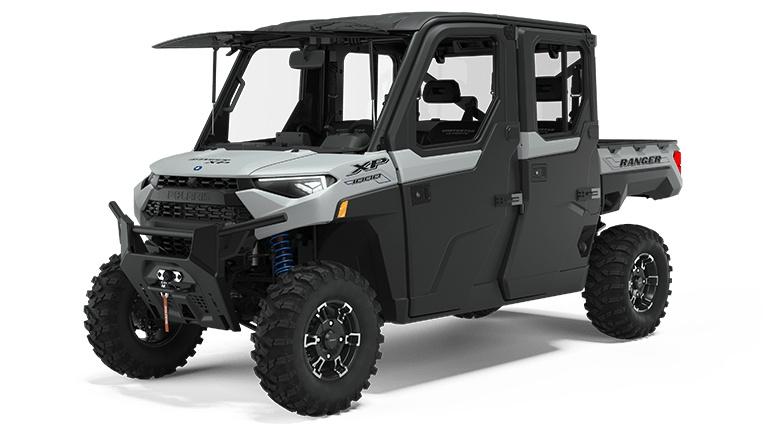Polaris RANGER CREW XP 1000 NorthStar Edition Ultimate Ghost White Metallic 2022