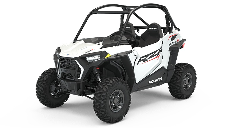 Polaris RZR Trail S 900 Sport White Lightning 2022