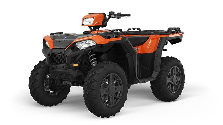 2022 Polaris Sportsman 850 Premium Matte Orange Rust
