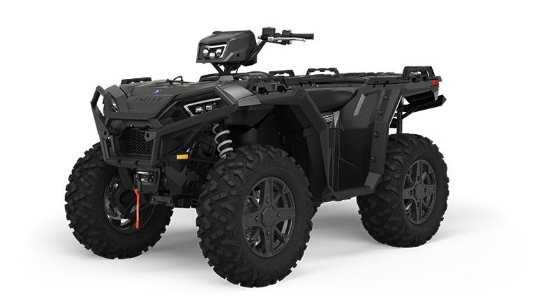 2022 Polaris Sportsman XP 1000 Ultimate Trail Stealth Black