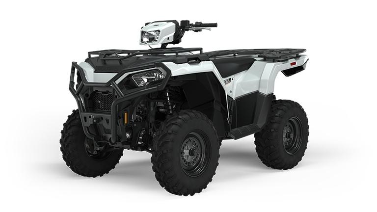 2022 Polaris Sportsman 570 Utility HD White Lightning