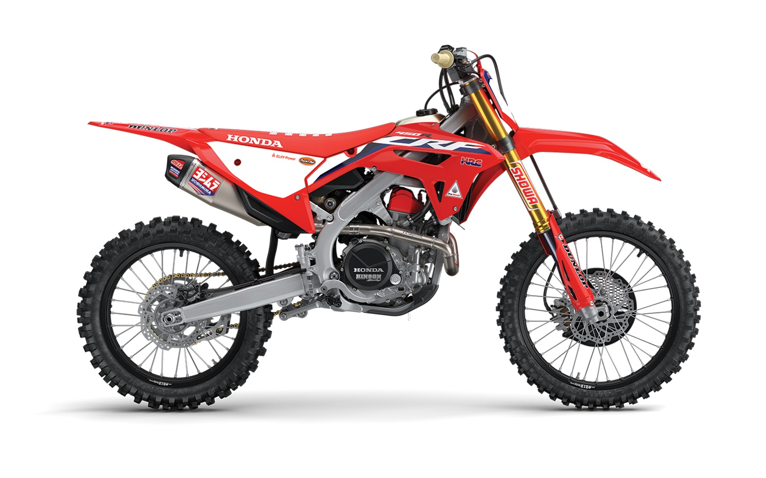 Honda CRF450RWE Rouge Extrême 2022