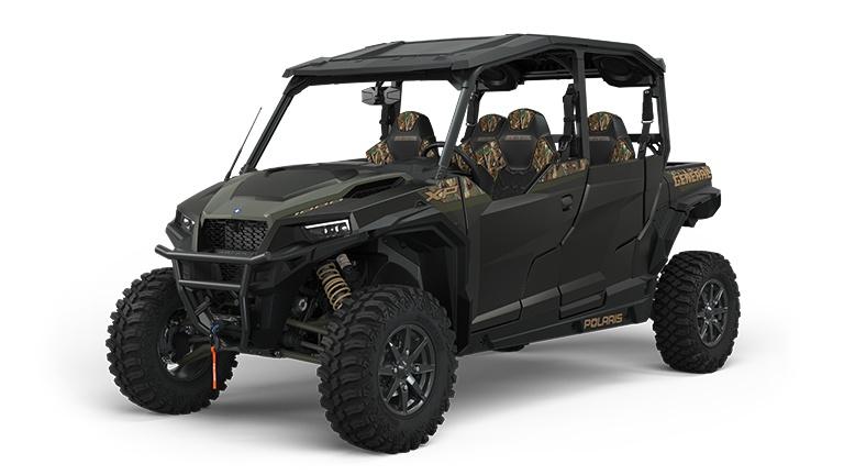 Polaris GENERAL XP 4 1000 Deluxe Ride Command Edition Stealth Black Pursuit 2022