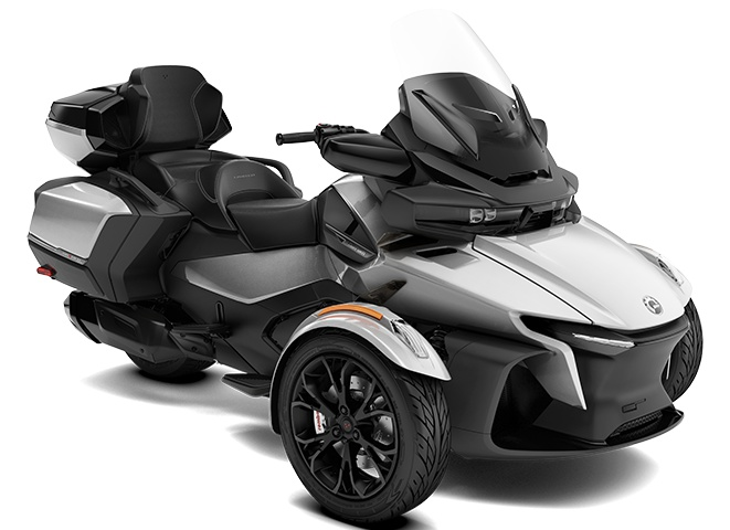 2022 Can-Am Spyder RT Limited Hyper Silver