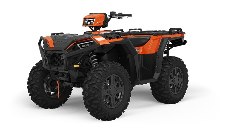 2022 Polaris Sportsman 850 Ultimate Trail Matte Orange Rust