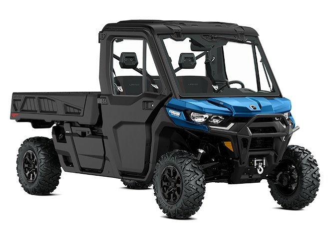 2022 Can-Am Defender PRO Limited Oxford Blue