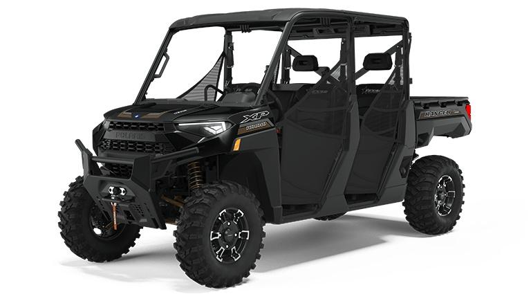 Polaris RANGER CREW XP 1000 Texas Edition Black Pearl 2022