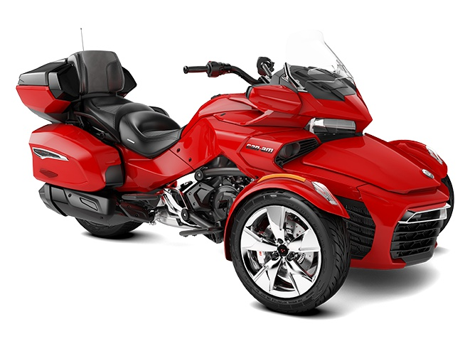 2022 Can-Am Spyder F3 Limited Viper Red
