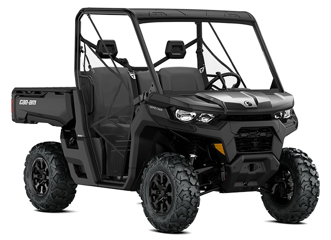 2022 Can-Am Defender DPS HD9 Timeless Black