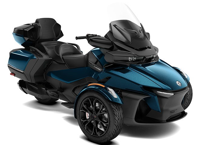 2022 Can-Am Spyder RT Limited Petrol Metallic