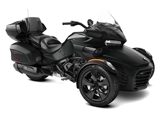 2022 Can-Am Spyder F3 Limited Monolith Black Satin