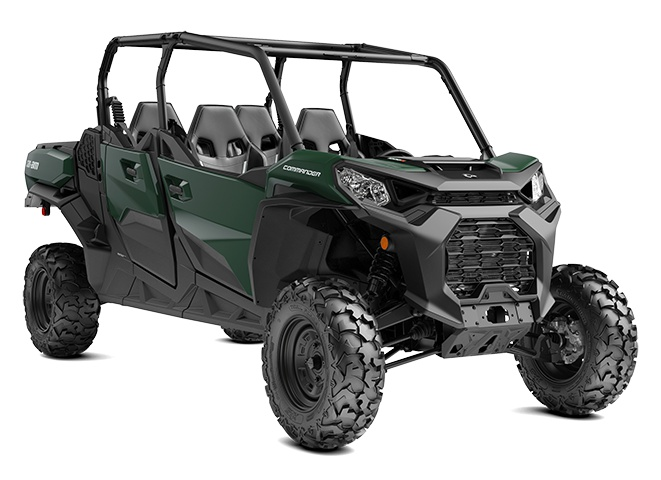 2022 Can-Am Commander MAX DPS Tundra Green