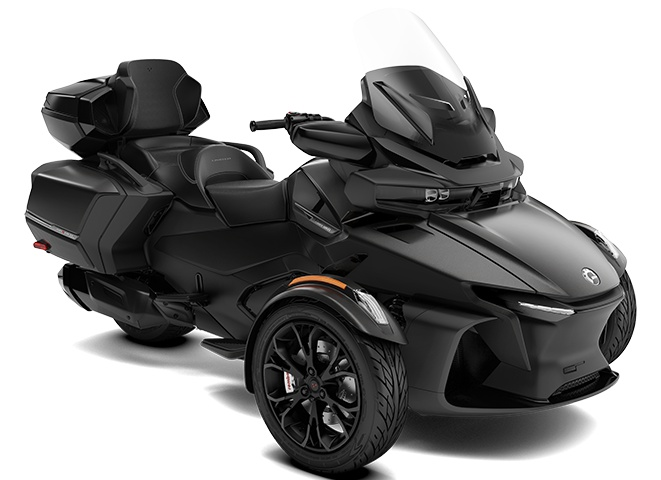 2022 Can-Am Spyder RT Limited Carbon Black
