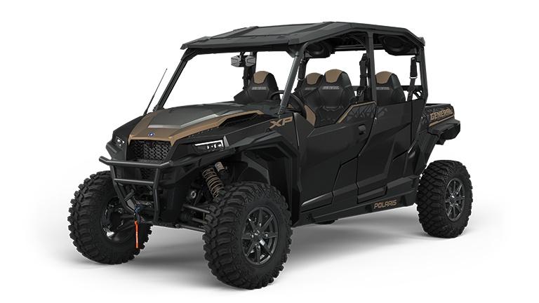 Polaris GENERAL XP 4 1000 Deluxe Ride Command Edition Black Crystal 2022