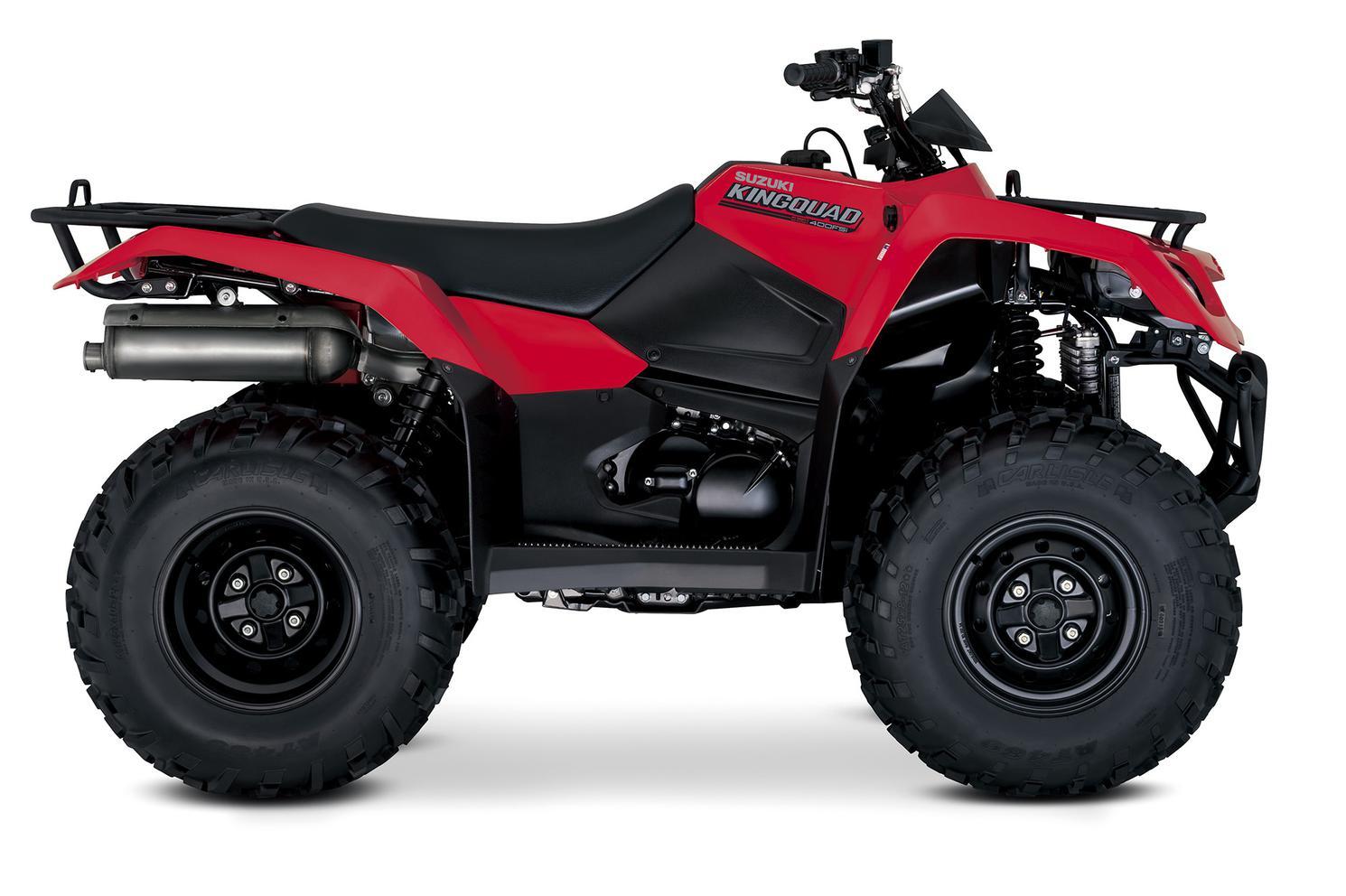 Suzuki KingQuad 400 Rouge Flame 2022