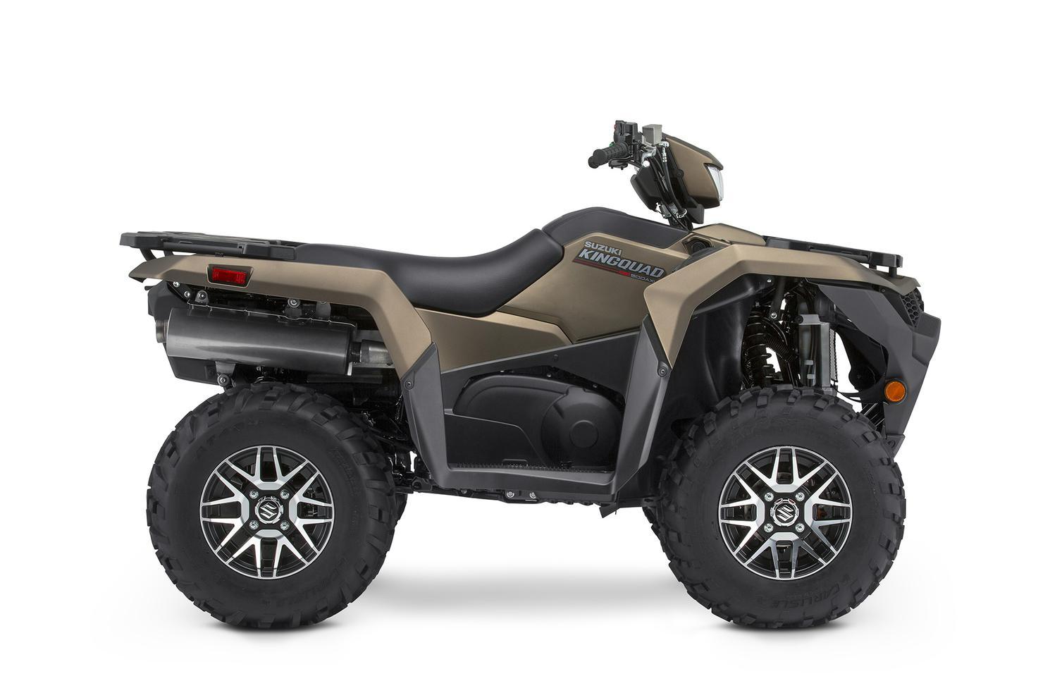 Suzuki KingQuad 500XPZ Colorado Bronze Matte, Roues Mag 2022