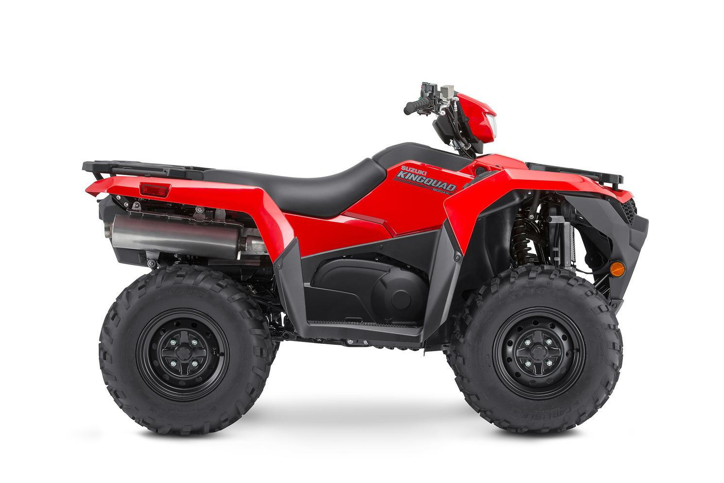 Suzuki KingQuad 500XP Rouge Flamme 2022