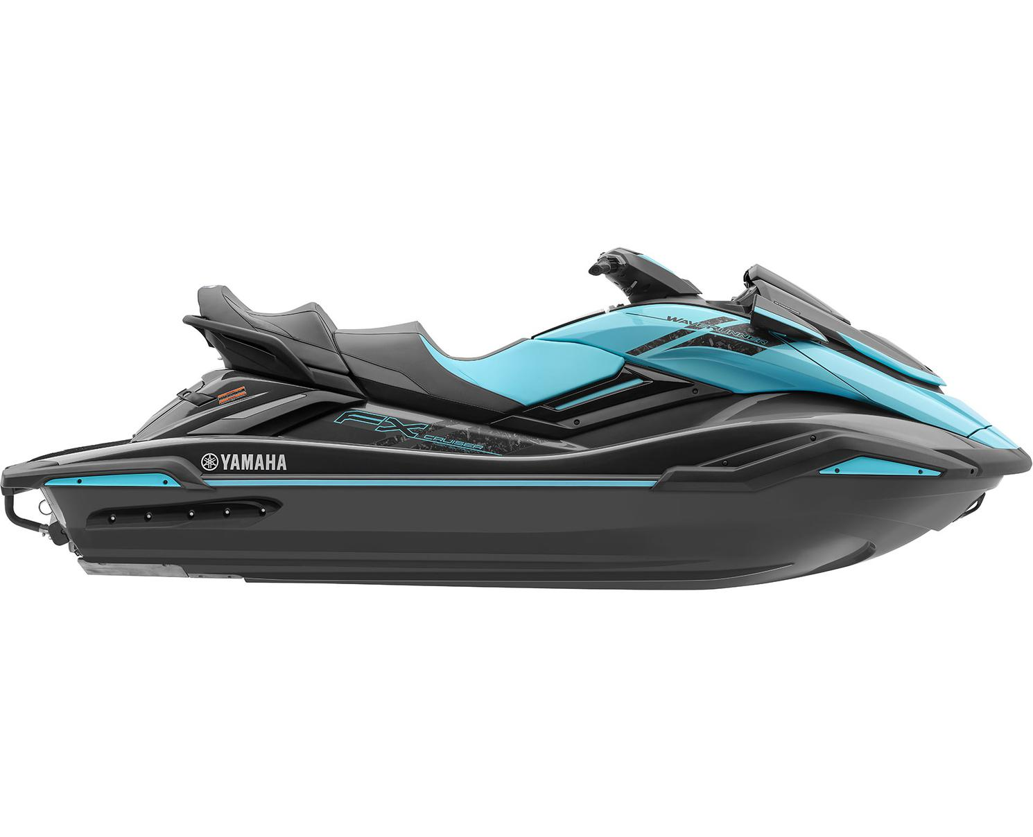 Yamaha FX Cruiser HO Noir Carbone/Menthe 2022