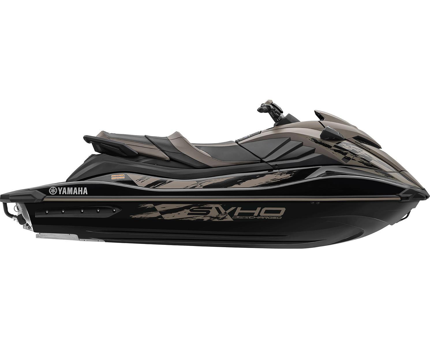 2022 Yamaha GP1800R SVHO Black/Titan Grey