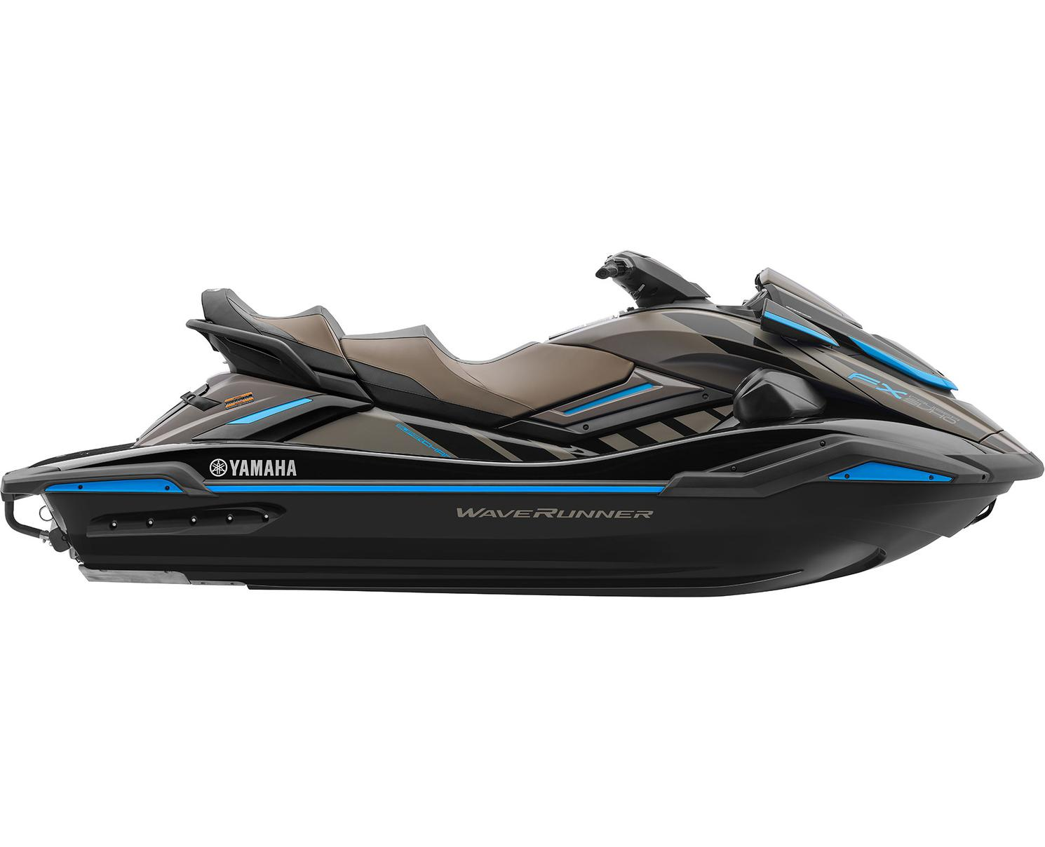 2022 Yamaha FX Cruiser SVHO Black/Titan Grey