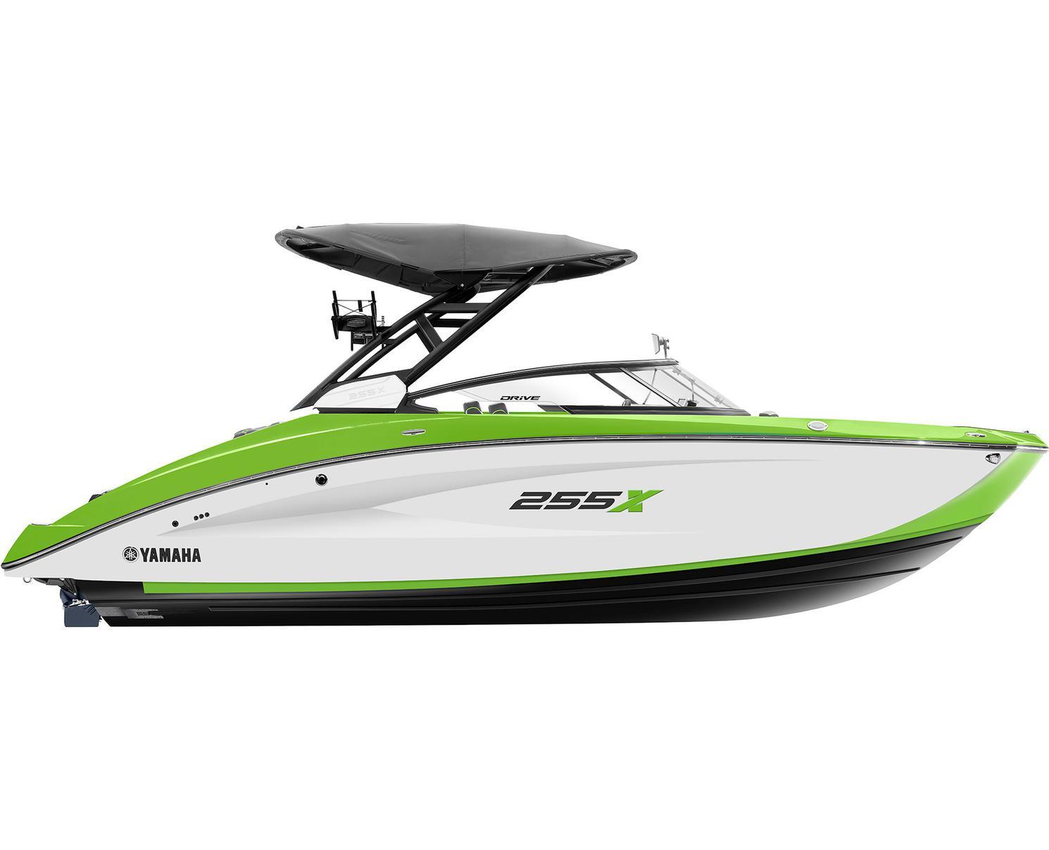 Yamaha 255XD Blanc/Vert Citron 2022