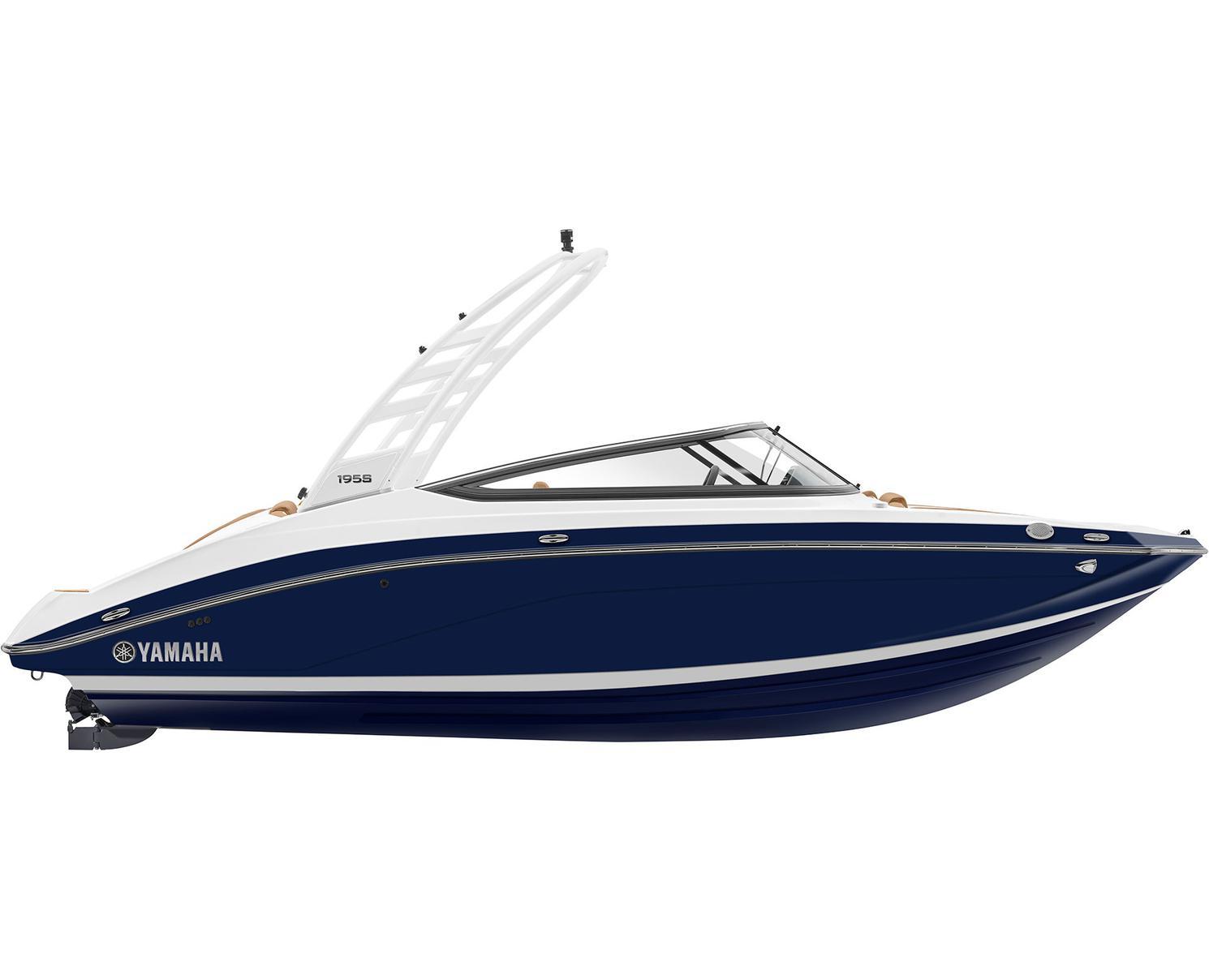 Yamaha 195S Bleu Yacht Métallique 2022