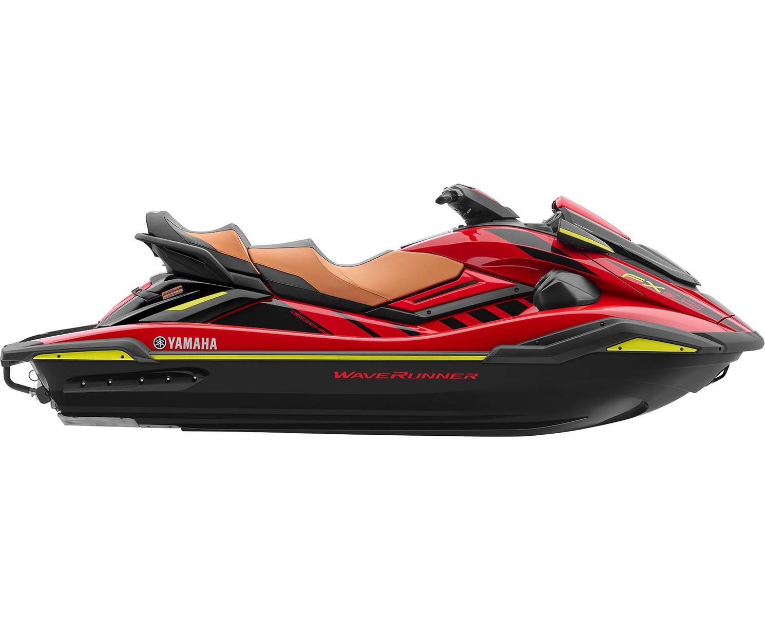 Yamaha FX Cruiser SVHO Rouge Flamme 2022