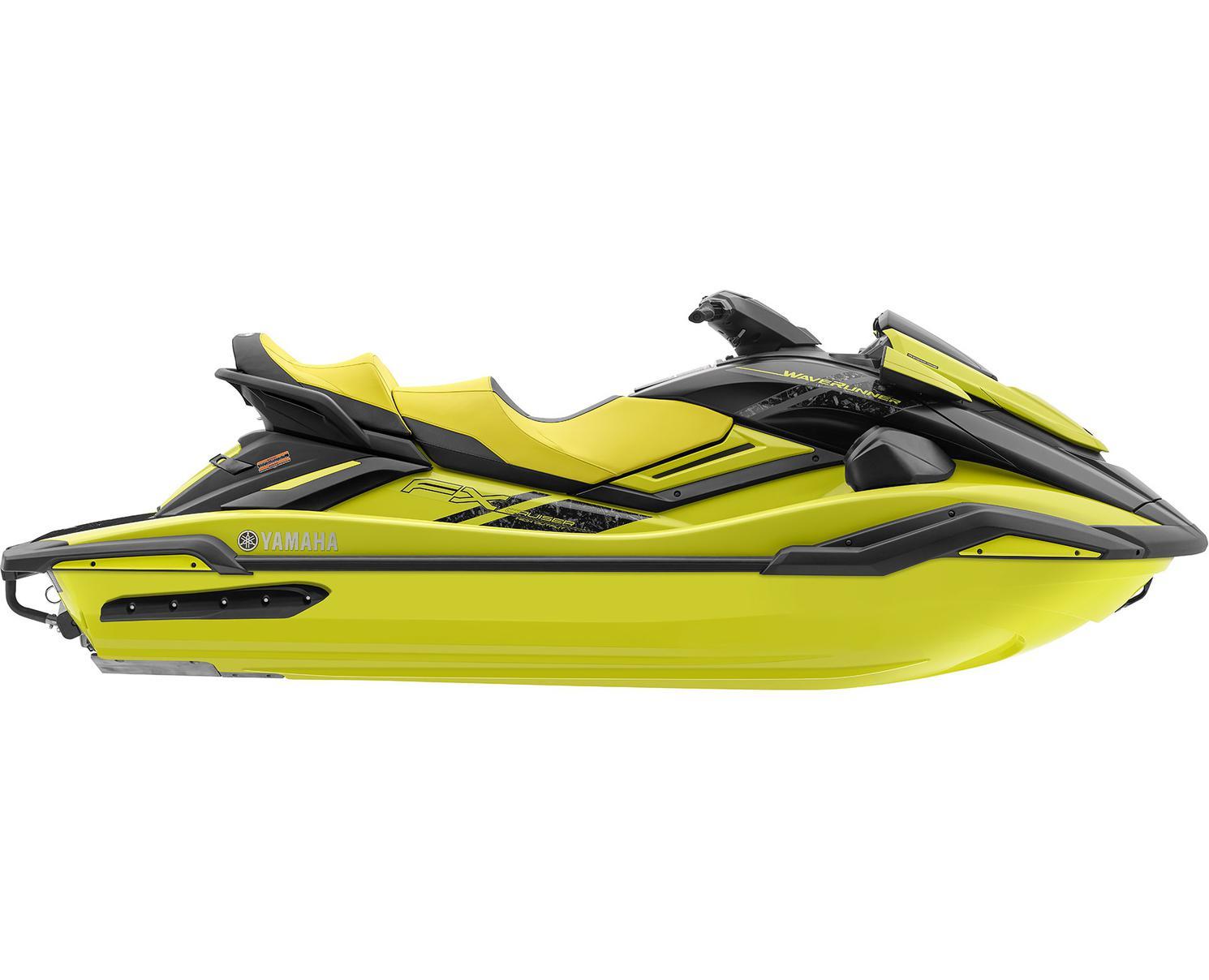 2022 Yamaha FX Cruiser HO Lime Yellow