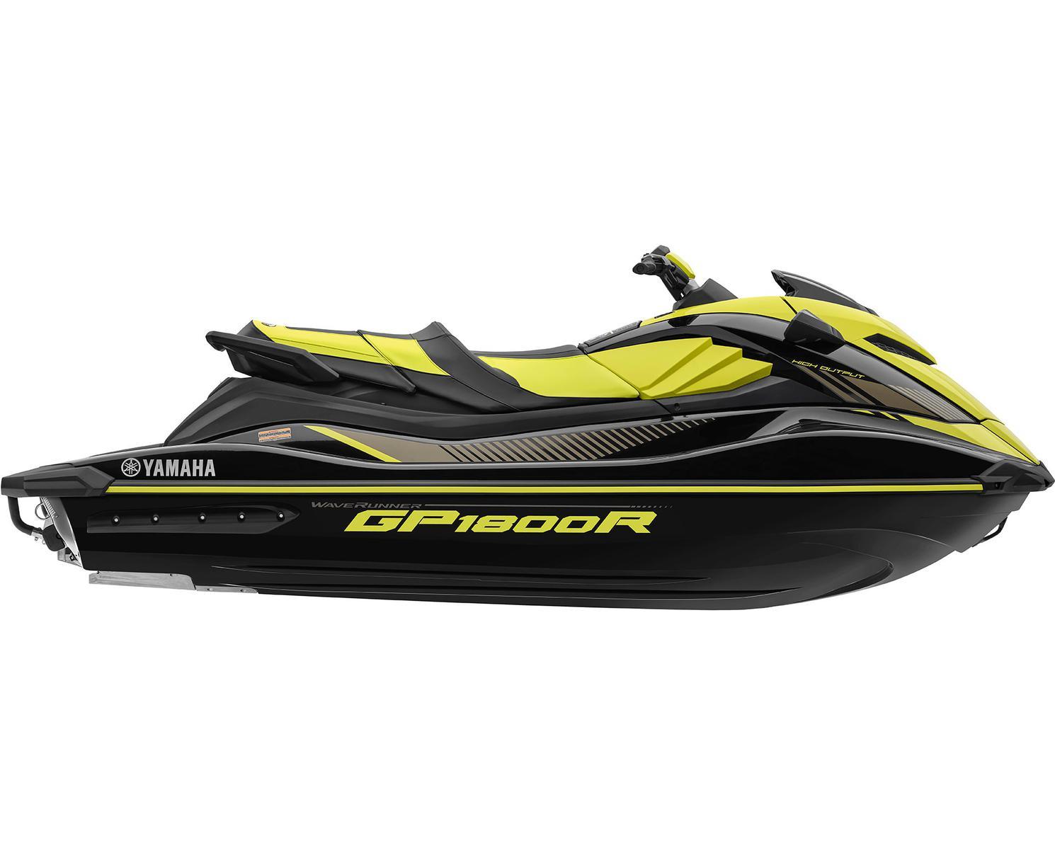 2022 Yamaha GP1800R HO Black/Lime Yellow