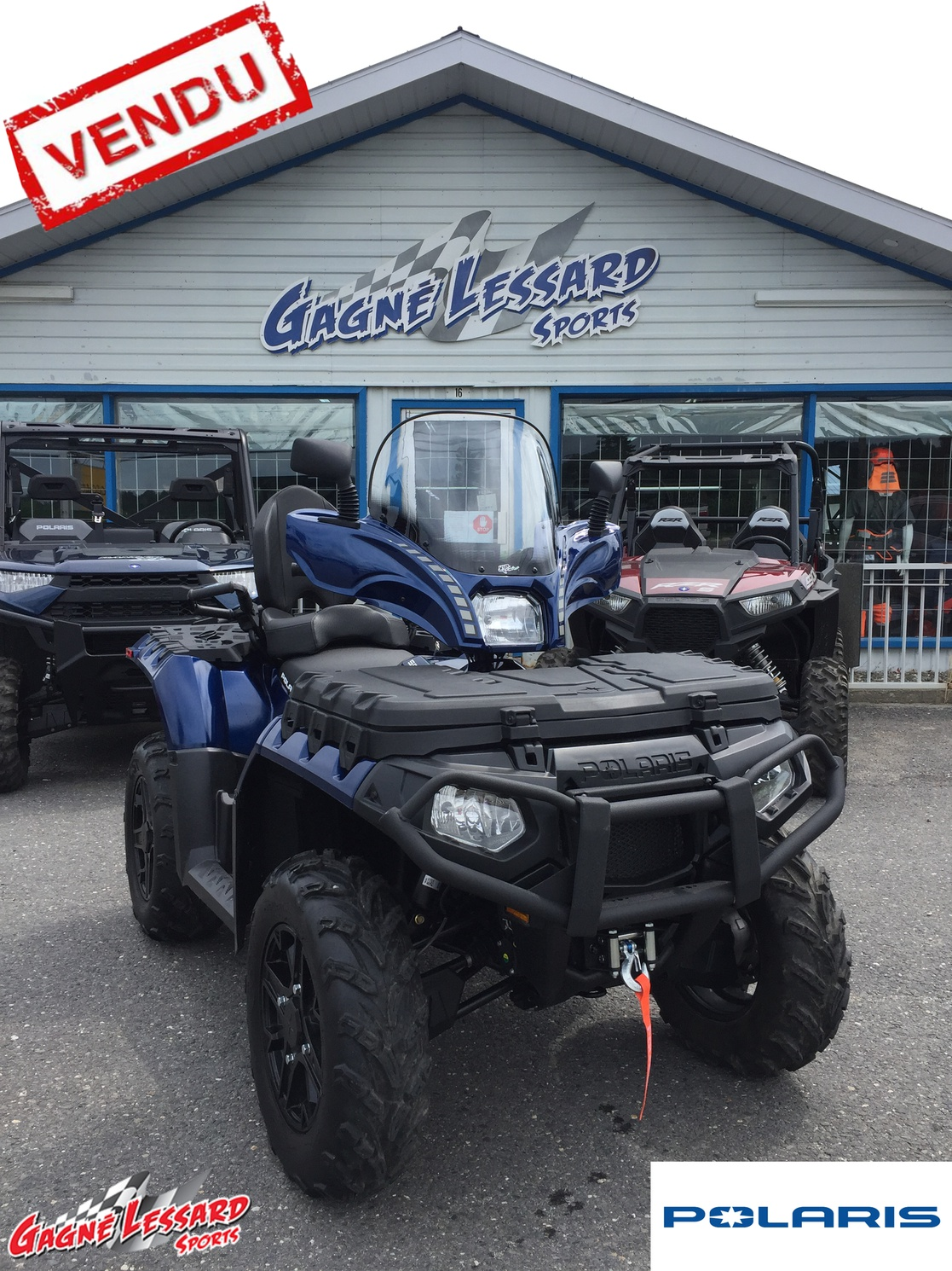Polaris Sportman 850 Premium Navy Blue 2020