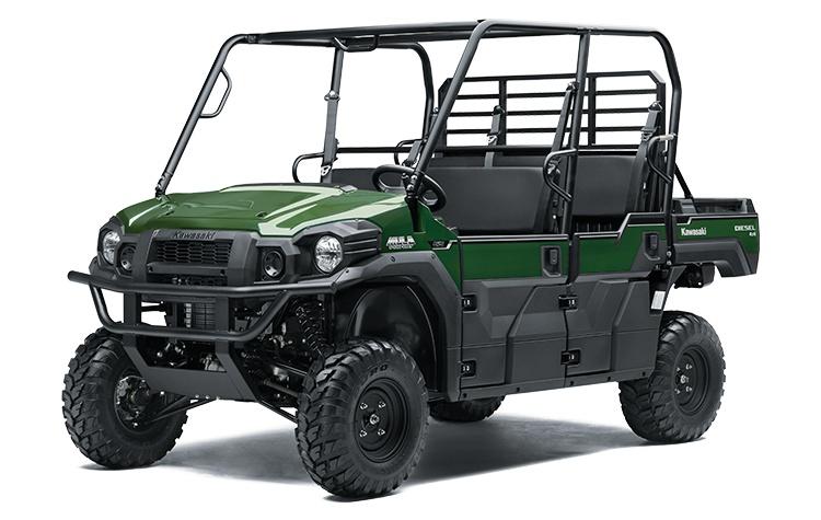 2021 Kawasaki MULE PRO-DXT EPS Diesel. Frais inclus+Taxes