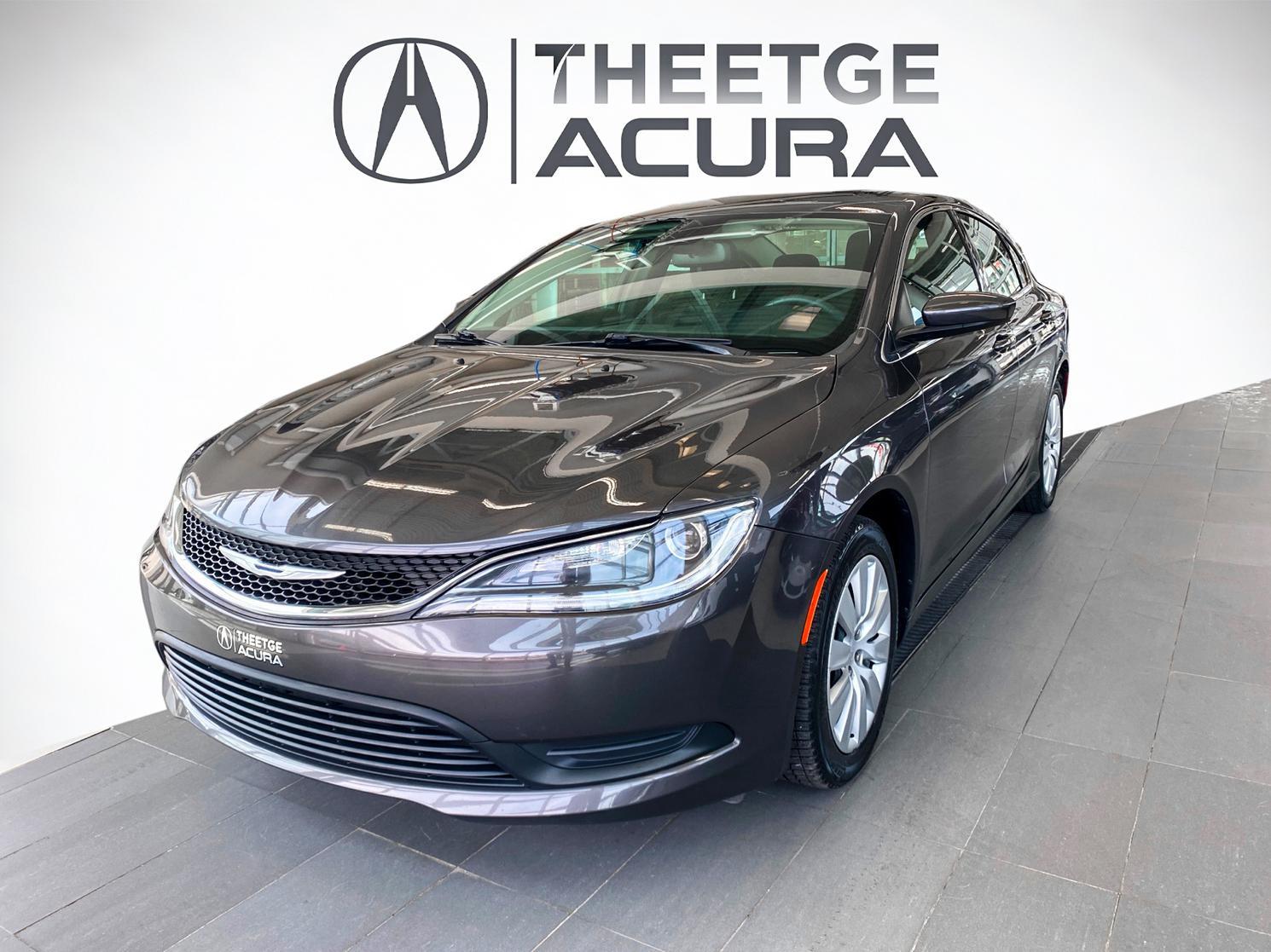 Chrysler 200 LX 2015 à vendre à Québec