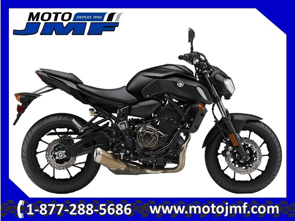 Yamaha MT-07A 2019