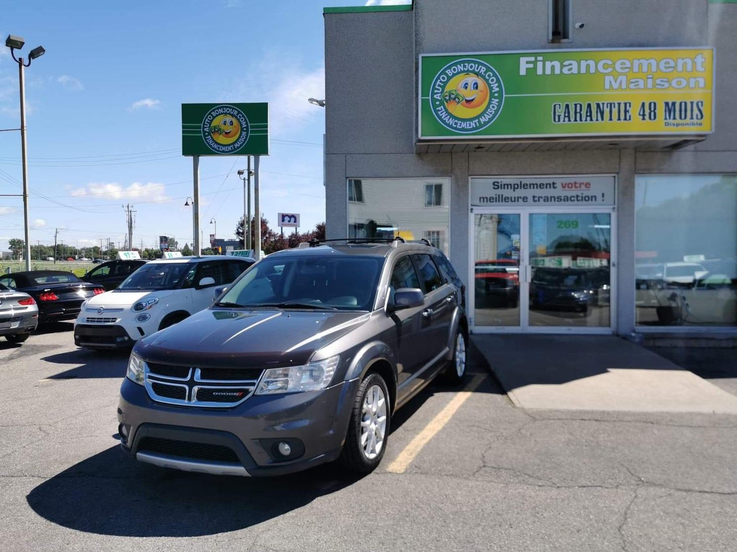 2014 Dodge Journey awd R/T $ 63/sem *DVD* 7 passagers #20-018