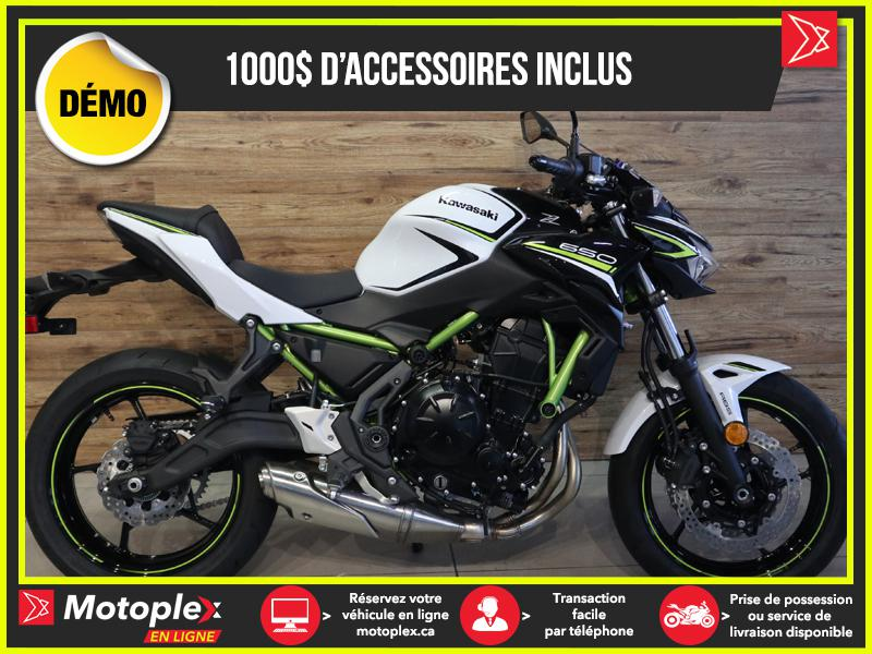 2020 Kawasaki Z 650 ABS SE DEMO – 304 KM - 25$/SEMAINE