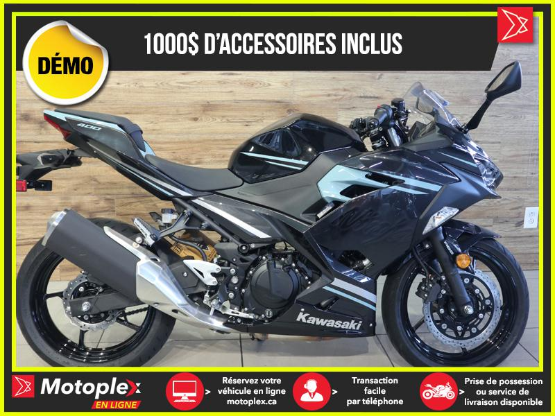 2020 Kawasaki NINJA 400 ABS SE DEMO – 107 KM - 25$/SEMAINE